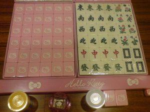 limited Hello Kitty mahjong