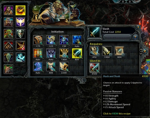 heroes of newerth items